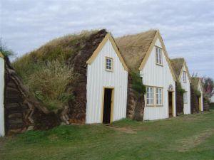 Glaumbær in Skagafjörður.